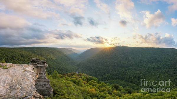 Photograph - Lindy Point Sunset Pano by Michael Ver Sprill