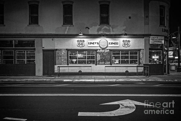Photograph - Lindy's Diner On Route 66 by Imagery by Charly