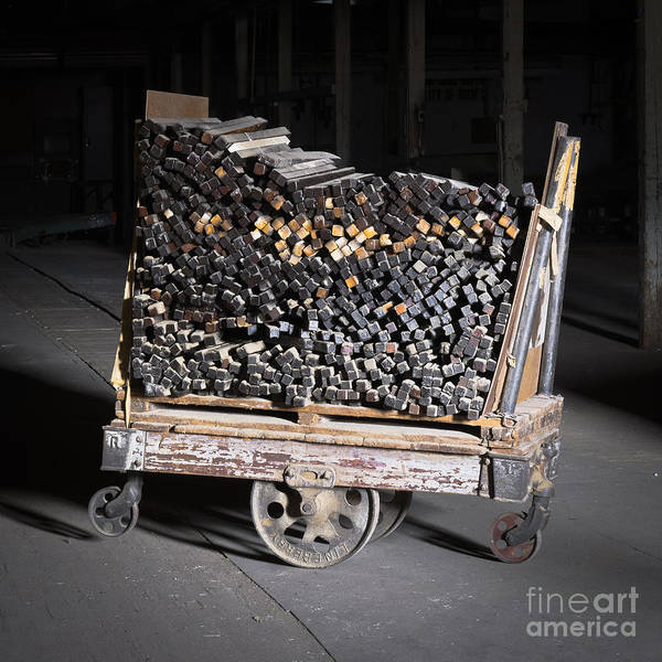 Photograph - Lineberry Factory Cart 1 C by Patrick M Lynch