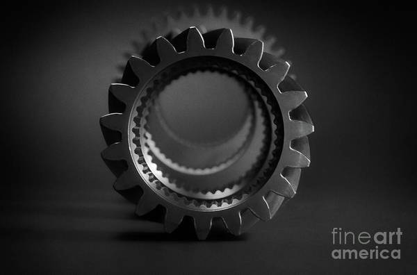 Wall Art - Photograph - Line Up Black And White by Chris Fleming
