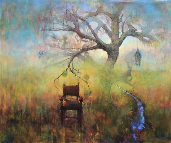 Birdhouse Painting - Lineage Of Harmony by Joshua Smith