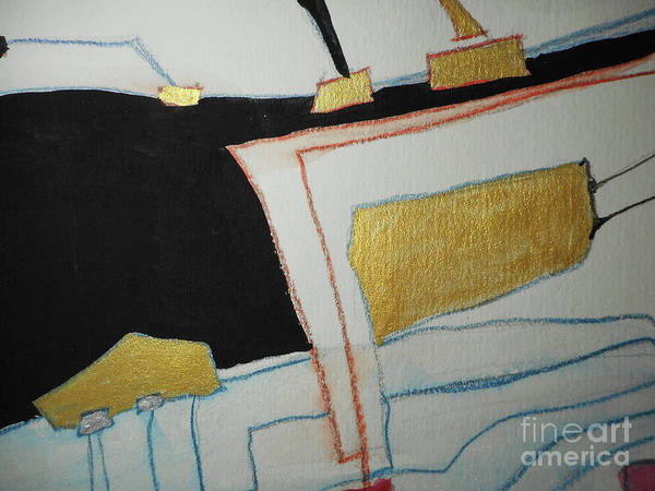 Painting - Linear-2 by Katerina Stamatelos
