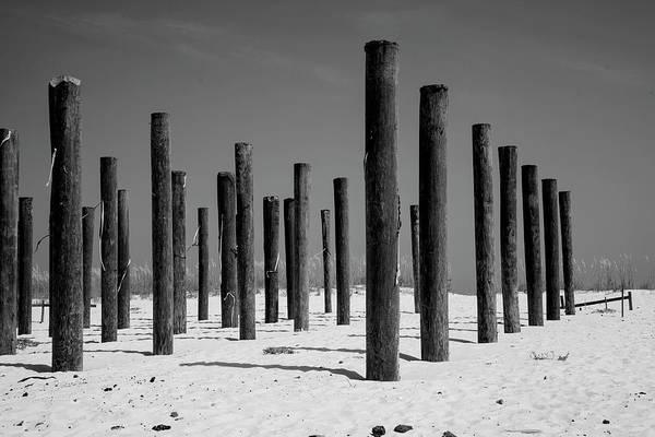 Wall Art - Photograph - Linear Beach Formation  by Toni Hopper