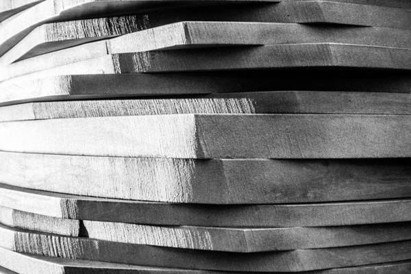 Photograph - Linear Textures by SR Green