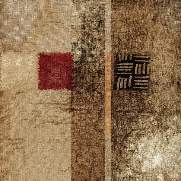 Linen Wall Art - Photograph - Linen Weave by Carol Leigh