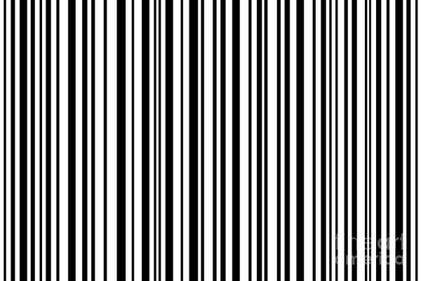 Barcode Digital Art - Lines 7 by Bruce Stanfield