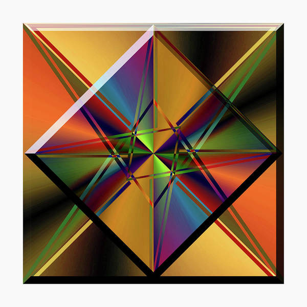 Showpiece Digital Art - Lines In Color by Andy Young