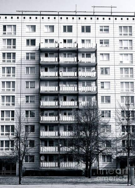 Wall Art - Photograph - Lines In East Berlin by John Rizzuto