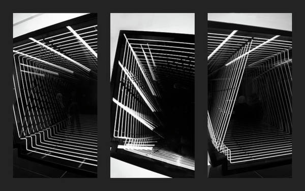 Photograph - Lines Of Light Triptych by Jessica Jenney