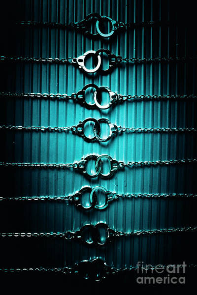 Prison Photograph - Lineup Of Crime And Misconduct by Jorgo Photography - Wall Art Gallery