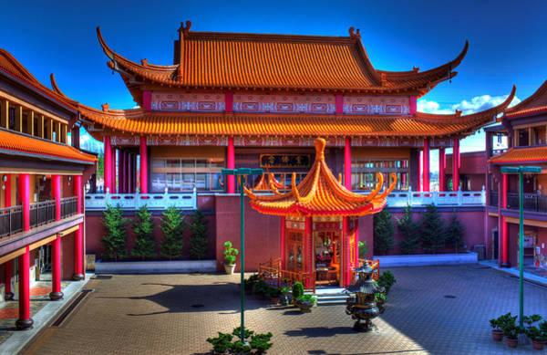 Photograph - Lingyen Mountain Temple 11 by Lawrence Christopher