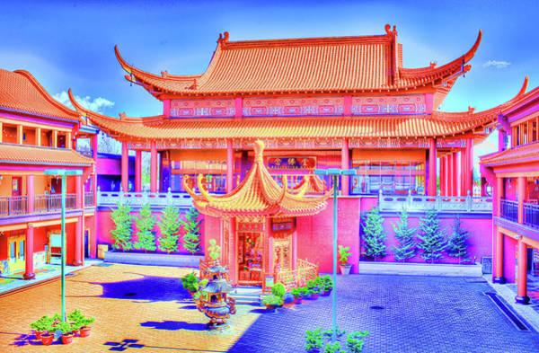 Photograph - Lingyen Mountain Temple 12 by Lawrence Christopher