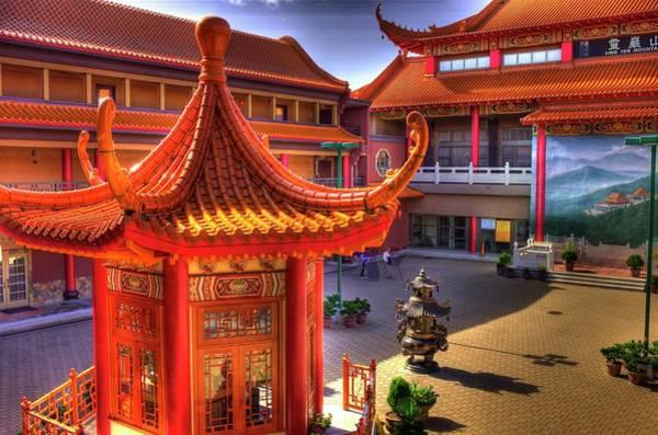 Photograph - Lingyen Mountain Temple 13 by Lawrence Christopher
