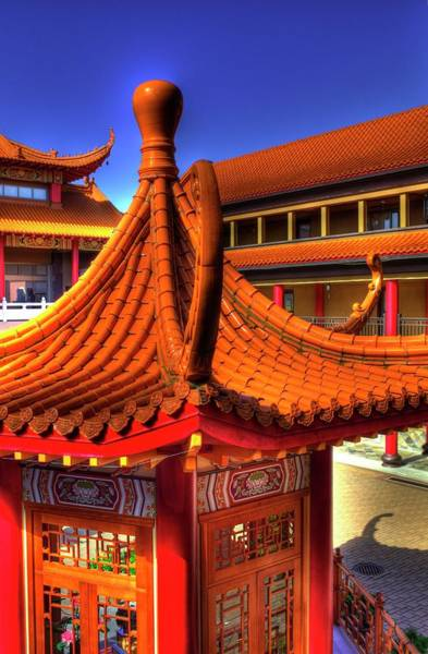 Photograph - Lingyen Mountain Temple 16 by Lawrence Christopher