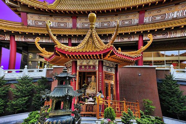 Photograph - Lingyen Mountain Temple 19 by Lawrence Christopher