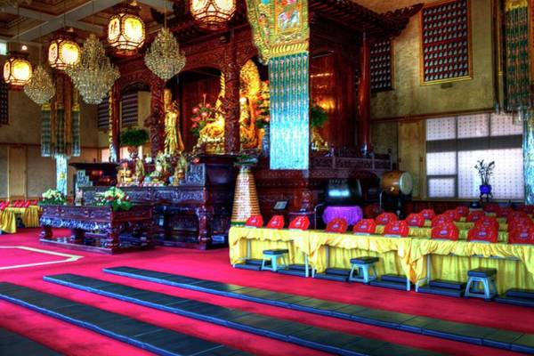 Photograph - Lingyen Mountain Temple 2 by Lawrence Christopher