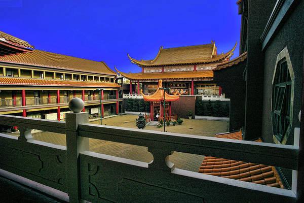 Photograph - Lingyen Mountain Temple 22 by Lawrence Christopher