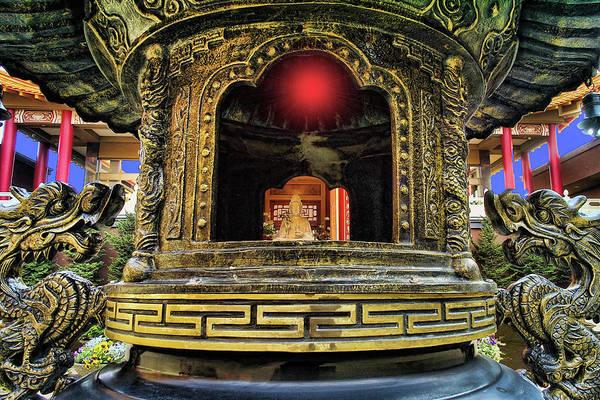Photograph - Lingyen Mountain Temple 29 by Lawrence Christopher