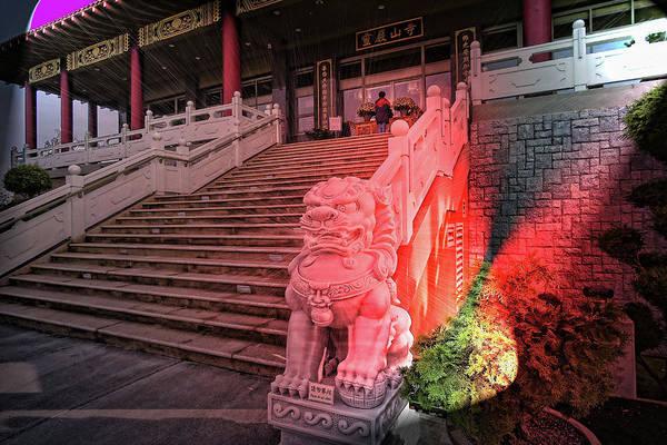 Photograph - Lingyen Mountain Temple 31 by Lawrence Christopher