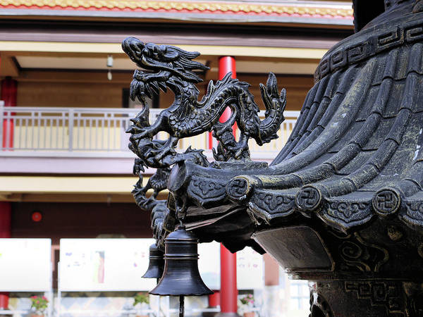 Photograph - Lingyen Mountain Temple 33 by Lawrence Christopher