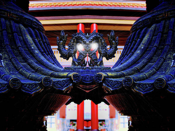 Photograph - Lingyen Mountain Temple 34 by Lawrence Christopher
