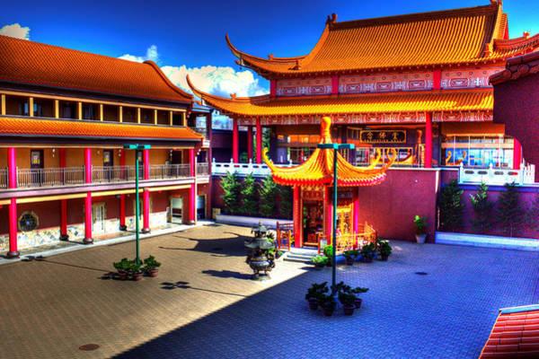 Photograph - Lingyen Mountain Temple 8 by Lawrence Christopher