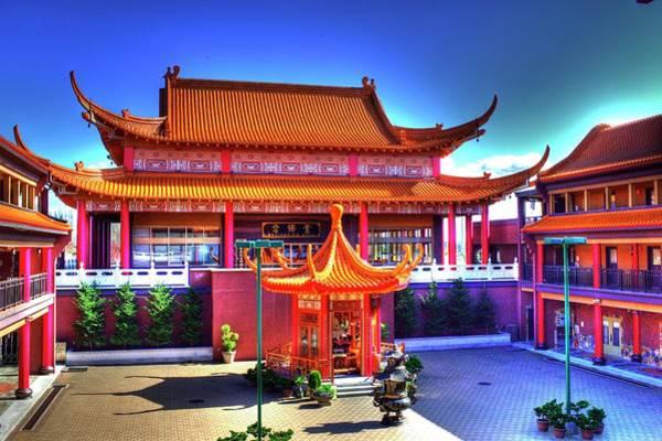 Photograph - Lingyen Mountain Temple 9 by Lawrence Christopher