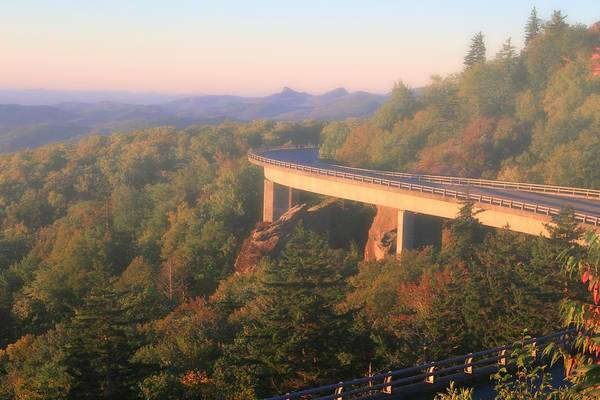 Photograph - Linn Cove Viaduct Misty Morning by Dan Sproul