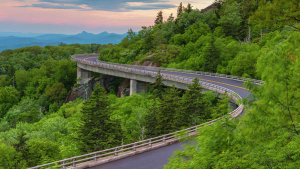 Wall Art - Photograph - Linn Cove Viaduct by Stephen Stookey