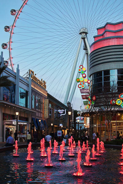 Photograph - Linq Promenade, Las Vegas by Tatiana Travelways
