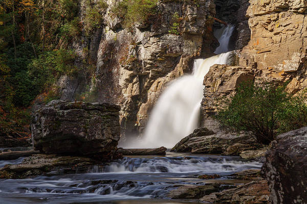 Linville Falls Wall Art - Photograph - Linville Falls by Claudia Domenig