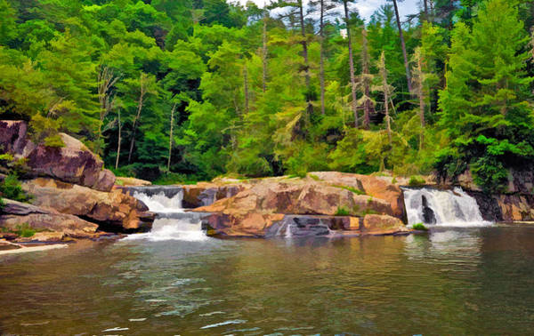 Photograph - Linville Falls Nc by Ginger Wakem