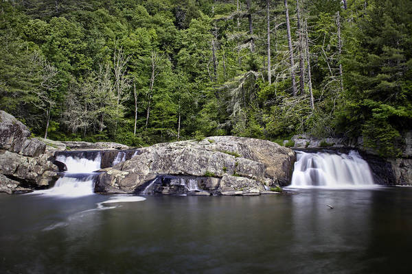 Photograph - Linville Falls On Memorial Day by Ben Shields