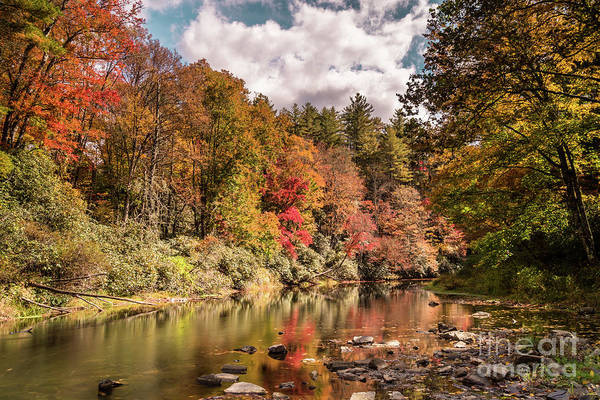 North Carolina Waterfalls Photograph - Linville River by DiFigiano Photography