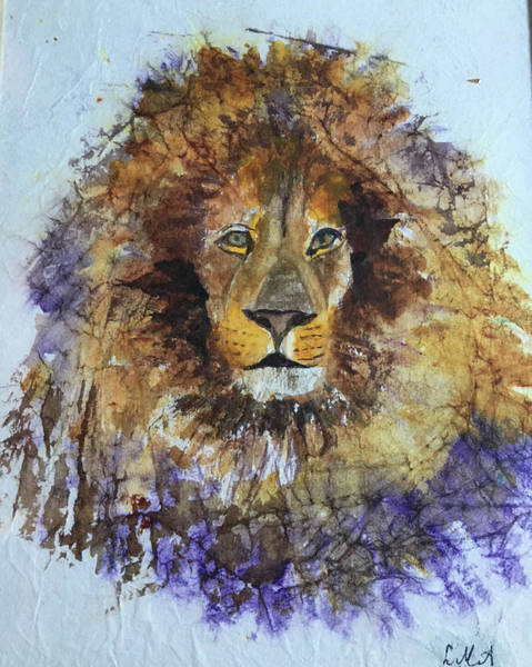Painting - Lion Head by Lynne Atwood