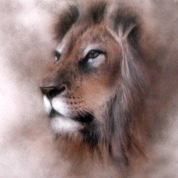 Painting - Lion King by Jackie Flaten