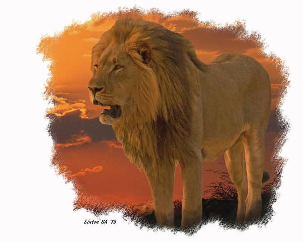 Digital Art - Lion King by Larry Linton