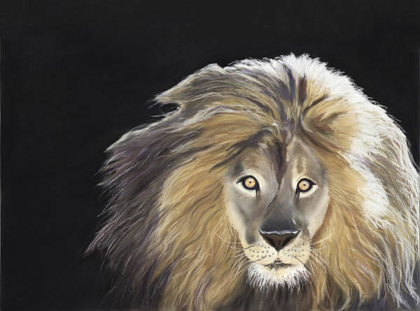 Painting - Lion Of Judah by Deborah Brown Maher