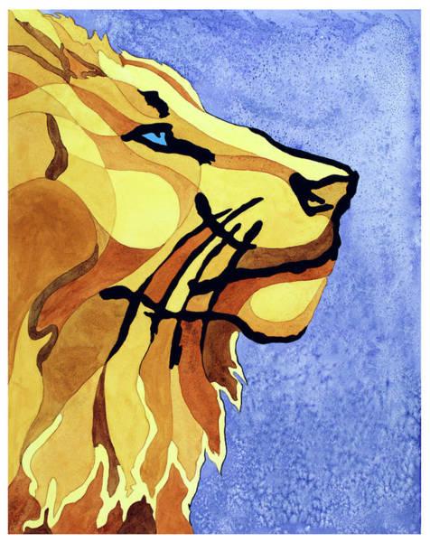 Painting - Lion Of Judah by Lorrisa Dussault