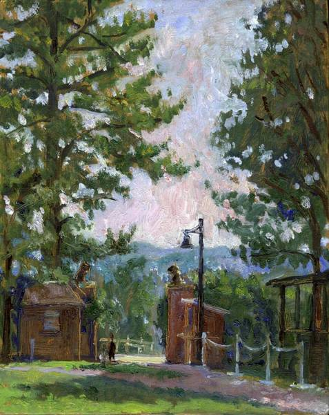Painting - Lion's Gate Tanglewood by Thor Wickstrom