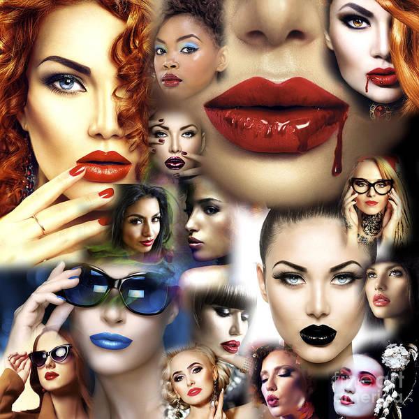 Photograph - Lips Culture by John Rizzuto