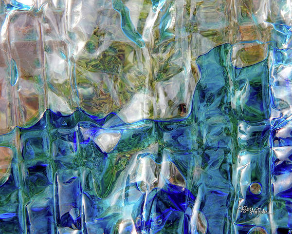 Photograph - Liquid Abstract #0061 by Barbara Tristan