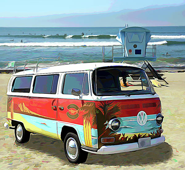 Orange County Digital Art - Liquid Aloha by Ron Regalado