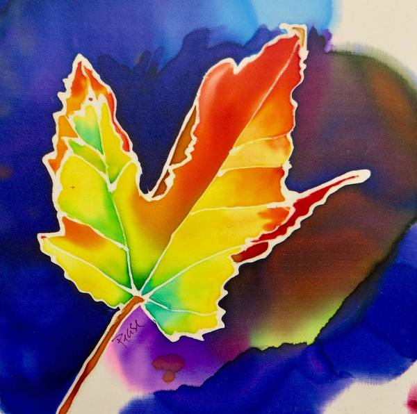 Painting - Liquid Amber by Barbara Pease