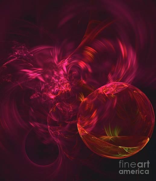 Deity Digital Art - Liquid Birth by Raphael Terra