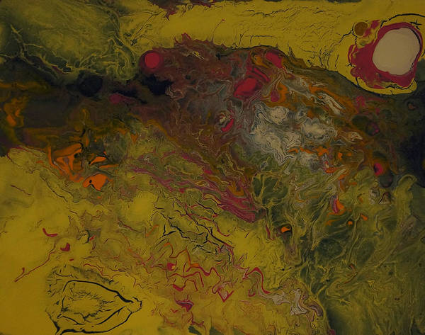 Painting - Liquid Dreams No 1a by Adam Asar