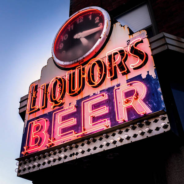 Photograph - Liquors And Beer On University Ave by Jim Hughes
