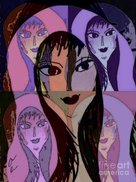 Mixed Media - Lisa by Ann Calvo