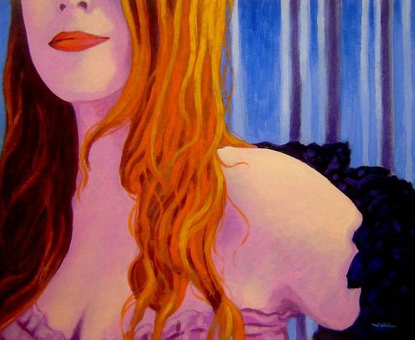Boa Painting - Lisa Darling  I - The Irish Burlesque School by John  Nolan