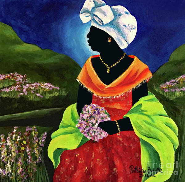 Haiti Painting - Lisabelle by Patricia Brintle